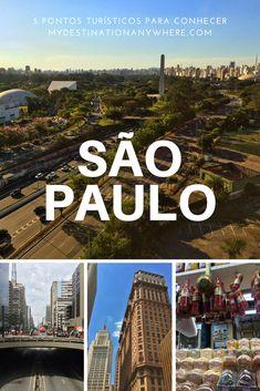 Pontos Turísticos de São Paulo: 5 Lugares para Conhecer na Cidade