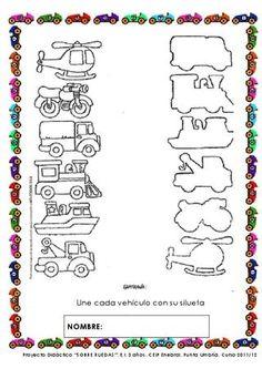 ISSUU - SOBRE RUEDAS. PROYECTO DE EDUCACIÓN INFANTIL. 3 AÑOS. de MariAn Vidal
