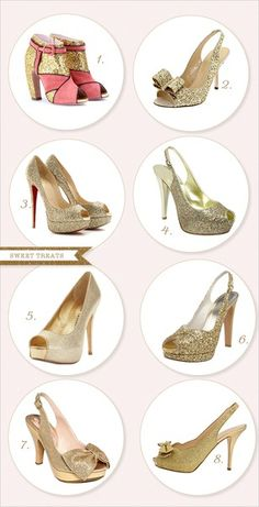 1106daa3df71 gold shoes wedding-shoes Bridal Party Shoes