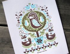 12 days of Christmas on etsy