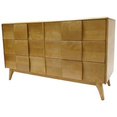 Heywood Wakefield Kohinoor Suite Six Drawer Dresser, 1950  | From a unique collection of antique and modern dressers at https://www.1stdibs.com/furniture/storage-case-pieces/dressers/