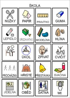 Képtalálatok a következőre: pracovni list ms bacil a vitamin Kids Learning Activities, Pictogram, Montessori, Adhd, Preschool, Language, Teaching, Education, Struktura