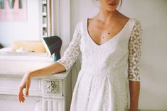 Découvrez la si belle collection civile 2016 de Lorafolk : de magnifiques robes aux lignes épurées et aux matières délicates !
