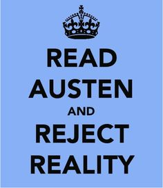 There's nothing better than reading a Jane Austen book!!(: