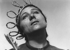 The Passion of Joan of Arc, a silent French film from 1928...a movie way ahead of its time.