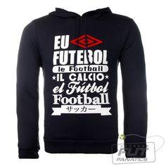 Moletom Umbro SPW Language Preto - Fut Fanatics - Compre Camisas de Futebol Originais de Times do Brasil e Europa