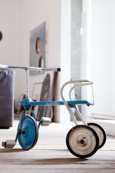 Babykamer fiets gaaf