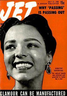 Dorothy Dandridge and Her Natural Beauty - Jet Magazine, J… | Flickr