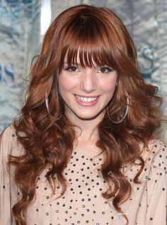 Bella Thorne - I'm likin the bangs....