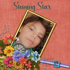 Our granddaughter is our shining star.