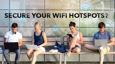 🛡️ WI-FI HOTSPOTS 📲📶 Free Wi-Fi access without the need to enter any passwords isn't just a gold mine for surfers; it's also an easy target for hackers and cyber criminals. Future Gadgets, Information Age, Wi Fi, Cyber, Public, Photoshop, Gold Mine, Surfers, Free