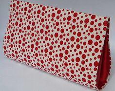 Clutch Poá Vermelha CA236