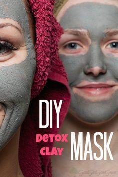 DIY Detox Clay Mask