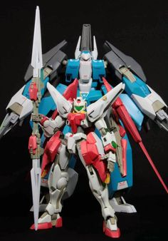 1/144 GN Knight System Custom Build - Gundam Kits Collection News and Reviews