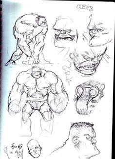 Hulk Sketches by JHarren on deviantART