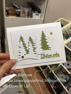 Tamara's Paper Trail: Carols of Christmas and a Catch Up