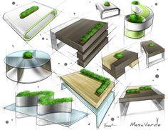 Design Furniture Sketches Inspiration Design Furniture Sketches Inspiration is a part of our furniture design inspiration series. Interior Design Sketches, Industrial Design Sketch, Sketch Design, Sketch Inspiration, Design Inspiration, Furniture Inspiration, Furniture Ideas, Tag Design, Green Landscape