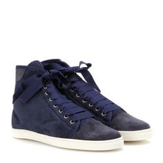 Suede high-tops by Lanvin
