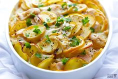 Lemon Chicken Potato Casserole Is Superb | The WHOot