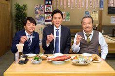 『孤独のグルメ』と『釣りバカ日誌』がコラボ! 五郎とハマちゃん遭遇 | マイナビニュース