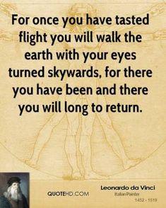 leonardo da vinci flying quote | Leonardo da Vinci Quotes | QuoteHD