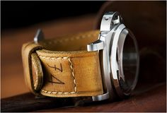 GUNNY STRAPS | WATCH VINTAGE LEATHER STRAPS Gunny Straps is a small company that makes fully hand made, hand finished, vintage, leather straps. They are all made by hand with help of small manual tools. Every strap is unique and has it´s own character and is individually numbered. Size is fully customized. Categories: WEAR | More: Watches