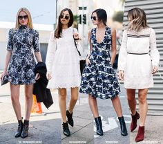 12 Dress + Boots Looks for Fall