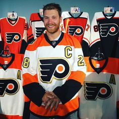 Flyers 50th anniversary jersey