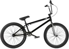 2017 DK Vega 22 inch BMX bike in Black at Albe's BMX Bike Shop
