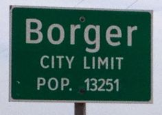 Moments in Time, A Genealogy Blog: Friday's Photo: Borger, Texas