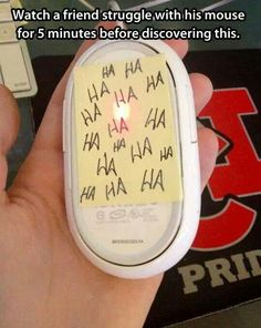 17 Diabolical Tech Pranks For April Fools Day - Prank - Prank meme - - Great prank! Funny creative and no one gets hurt! The post 17 Diabolical Tech Pranks For April Fools Day appeared first on Gag Dad. Haha, The Meta Picture, Practical Jokes, April Fools Day, Geek Culture, Just For Laughs, The Fool, Funny Jokes, Pranks Hilarious
