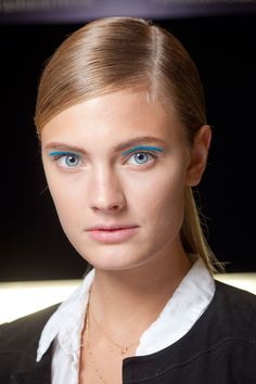 Constance Jablonski - Michael Kors Spring 2013 Ready-To-Wear Fashion Show Backstage in NYC September 2012