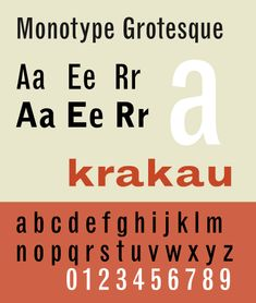 MonotypeGrotesqueSP - Vox-ATypI classification - Wikipedia, the free encyclopedia