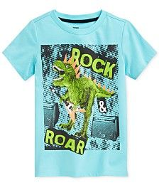 Epic Threads Little Boys' Rock & Roar Dinosaur T-Shirt, Only at Macy's