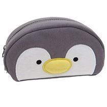 cute penguin face animal pencil case from Japan