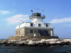 lighthouse for sale- when you want to get away from it all.