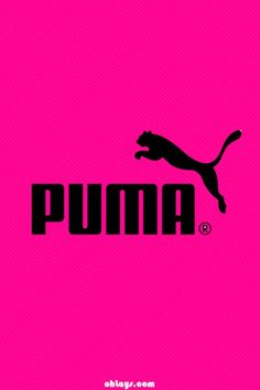 Puma in pink Adidas Iphone Wallpaper, Wallpaper Iphone Cute, Pink Wallpaper, Iphone Wallpapers, Flash Wallpaper, Wallpaper Backgrounds, Phone Backgrounds, Pink Love, Pretty In Pink