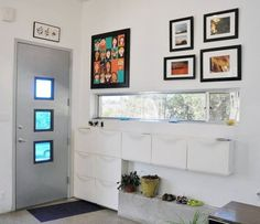 Organization Inspiration: Family Entryways from Our House Tours