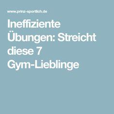 Ineffiziente Übungen: Streicht diese 7 Gym-Lieblinge
