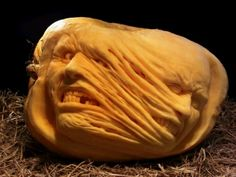 Unbelievable pumpkin carving art