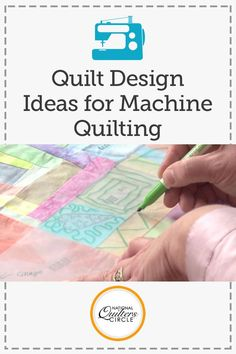 It's time to improve your quilting skills with Heather Thomas's helpful quilting tips and techniques. Learn the two basic entities to quilting that are essential for enhancing your quilts. See how you can use advance designs within your quilts and find out Heather's special tricks for designing unique quilts.