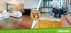 ¿Para tu hogar, prefieres un piso de cerámica o un piso de madera?