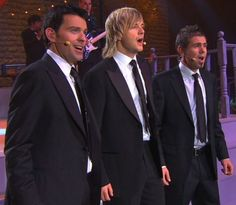 Celtic Thunder - Note that Ryan's the only one singing with a smirk... lol
