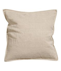 Product Detail | H&M US PREMIUM QUALITY Linen Cushion Cover $9.99 New Arrival COLOR: Linen beige