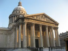 The Panthéon (1790) Neoclassic Architecture used presently as a Mausoleum for distinguished French Citizen. Paris