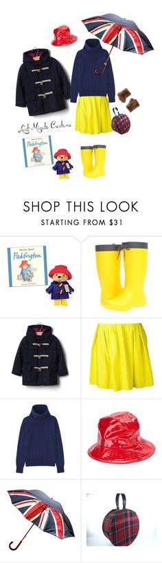 """Halloween Costume: Paddington Bear'"" by dianefantasy ❤ liked on Polyvore featuring Crocs, Gap, Thakoon Addition, Uniqlo, Karen Kane, Surell, polyvorecommunity, polyvoreeditorial and halloweencostume"