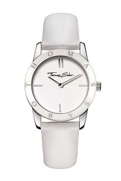Thomas Sabo White Leather Watch £179