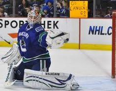I hope the Vancouver Canucks can keep him for the playoffs! (Cory Schneider) Go Canucks Go! Vancouver Canucks, Win Or Lose, Love My Boys, Hockey Teams, Nhl, Olympics, Athlete, Baseball Cards, 1 Place