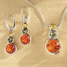 Tricolor Baltic Amber Jewelry - National Geographic Store