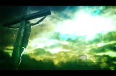 This Good Friday video loop displays the image of our Lord on the cross. The sky shifts between colors of green, gray, and blue. The bright sky on the right side of the worship video provides a place for you to add your worship lyrics. #Sharefaith #Faith #ChurchMedia #VideoLoop #Design